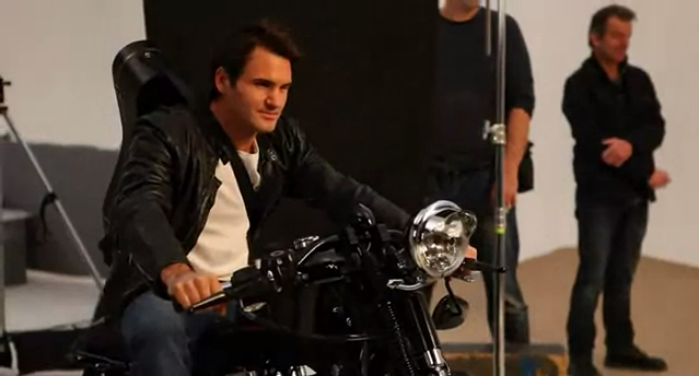 Making of Federer World Tour 2012 ads