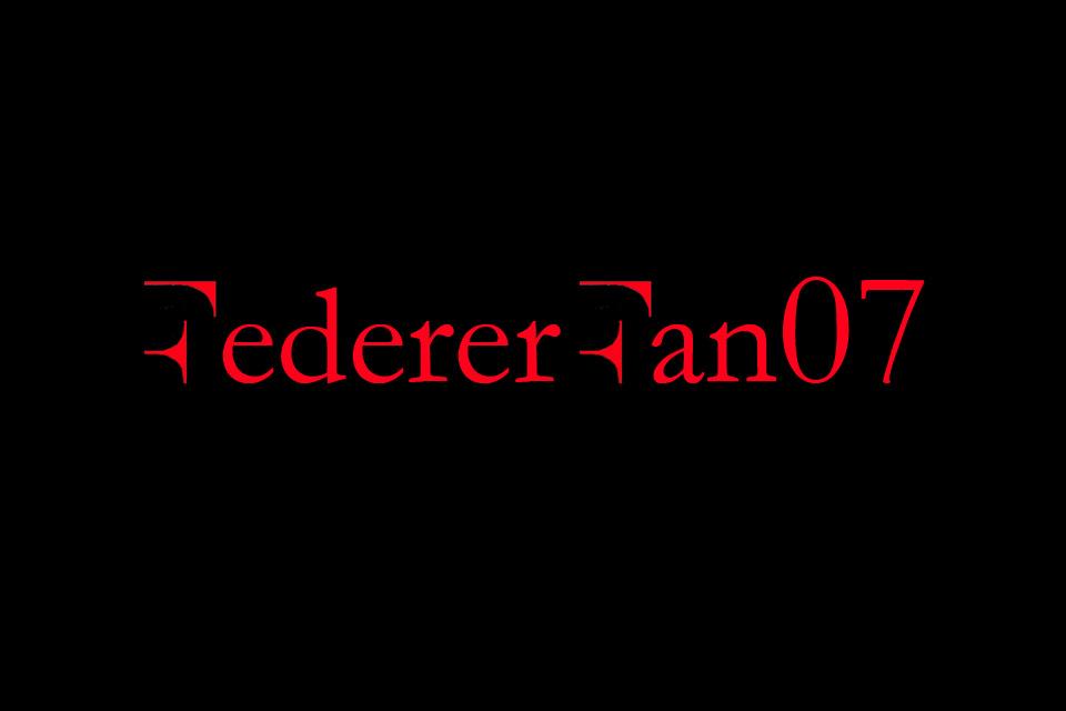 FedererFan07 Red Black