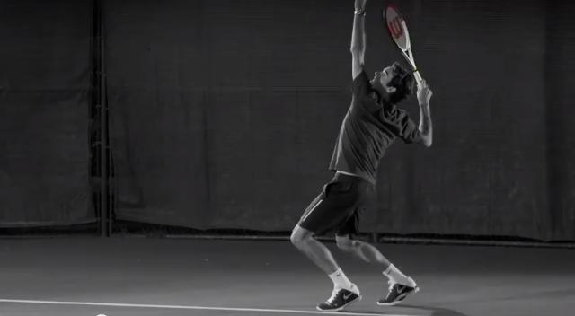 Federer Wilson Next Generation 2013 commercial