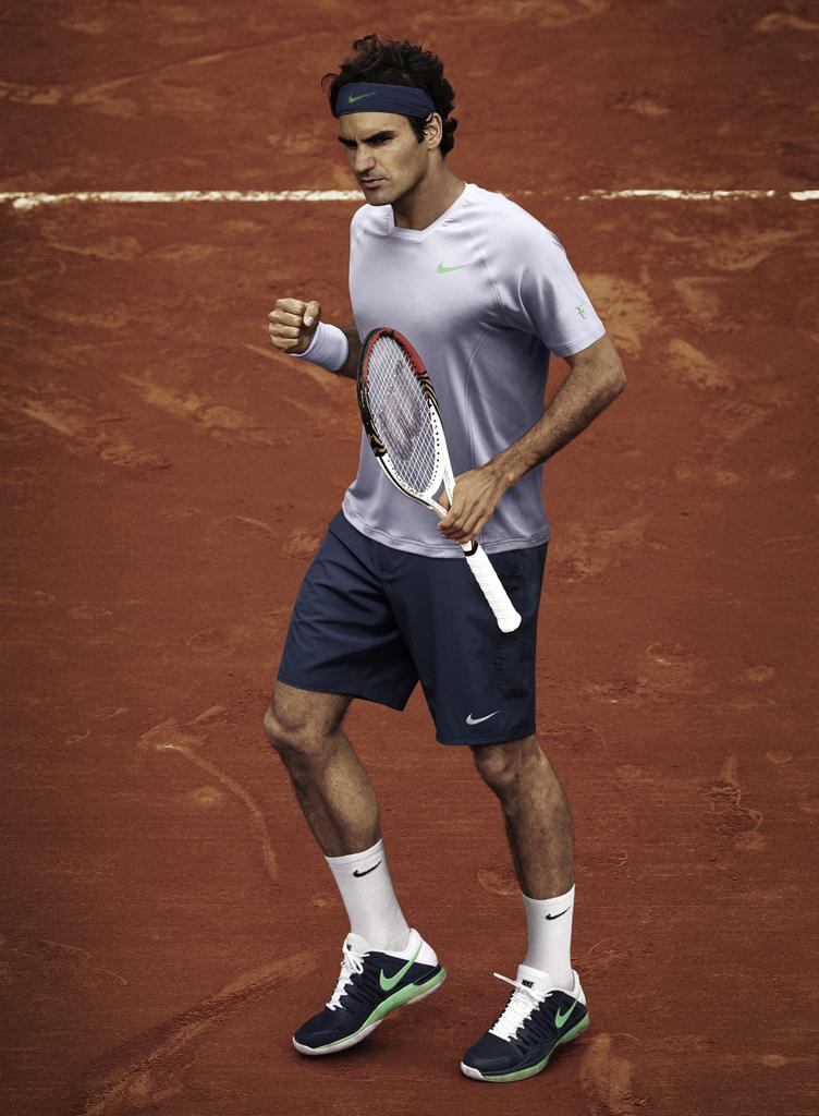 Roger Federer Roland Garros 2013 Nike outfit FedererFan07