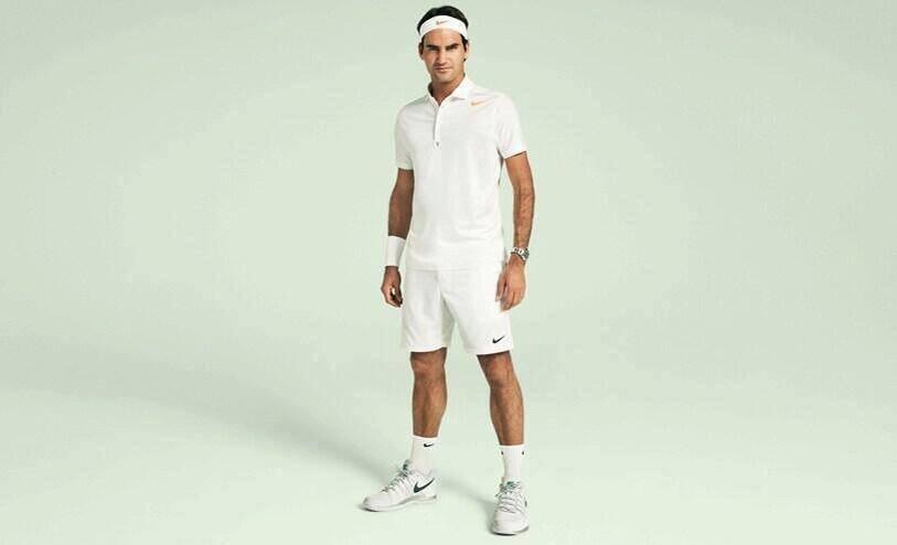 Federer Wimbledon 2013 Nike outfit