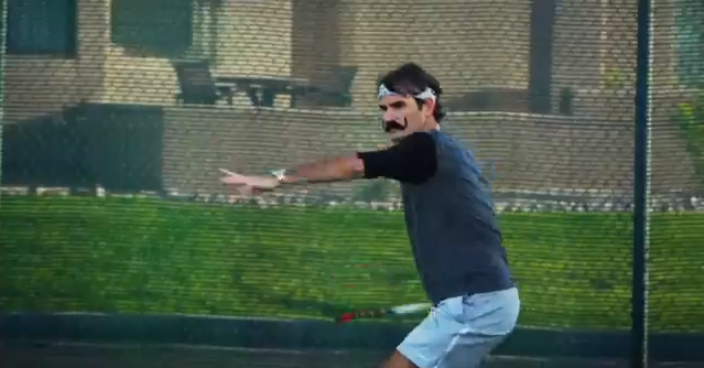 Federer Wilson Incognito for the Love of the Game