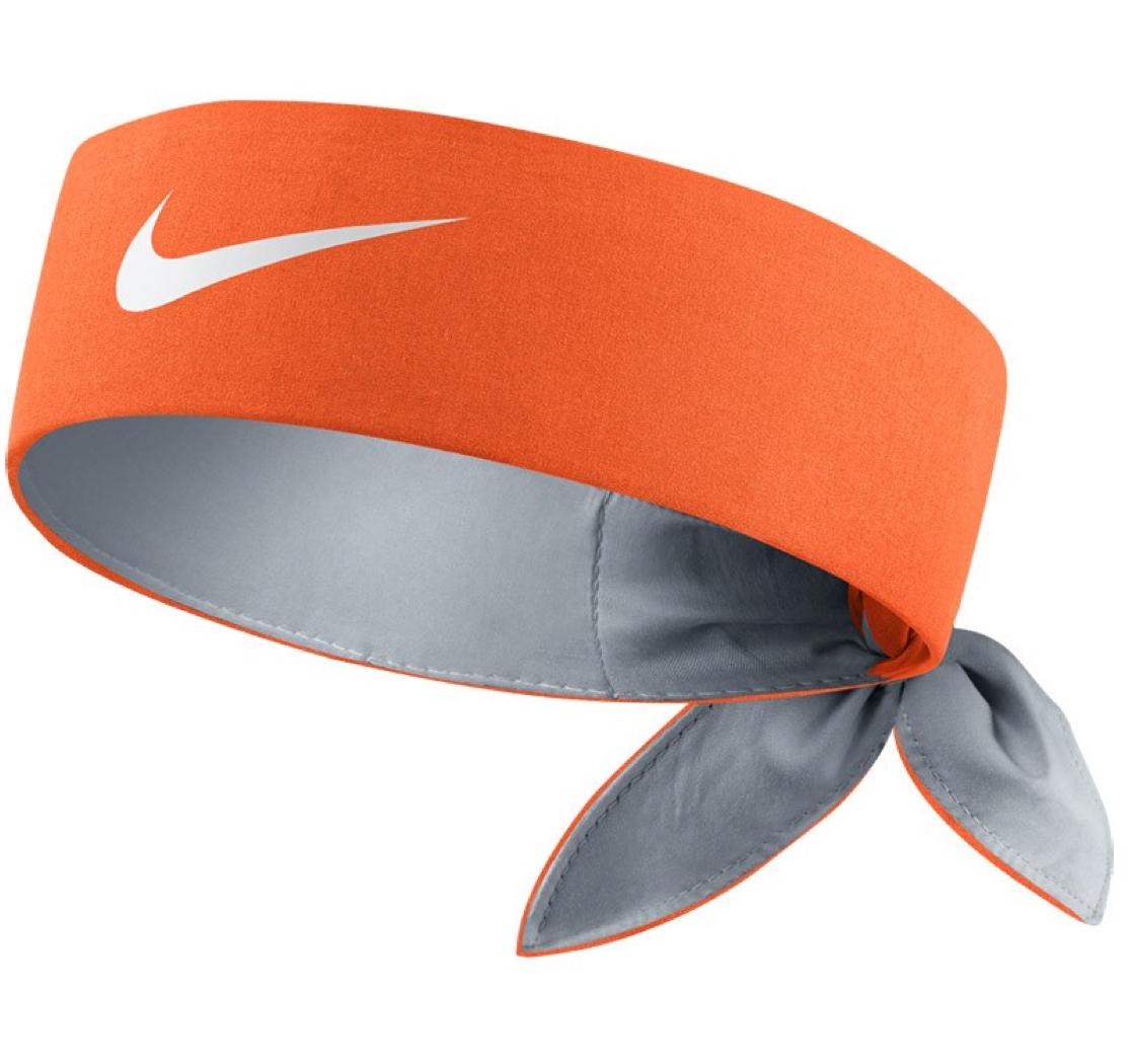 Federer 2015 Indian Wells Orange Bandana