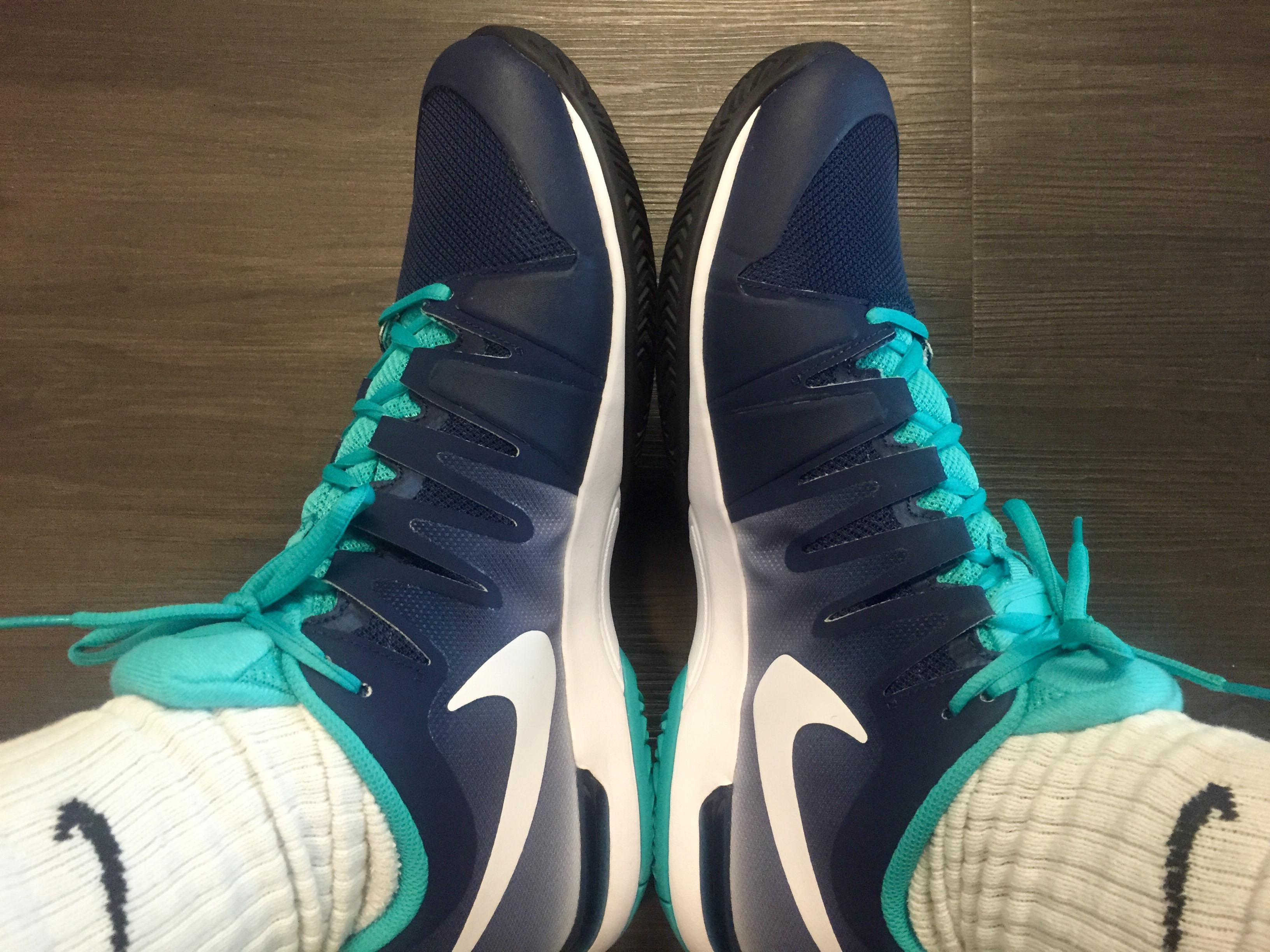 511ba06a41ecc Nike Zoom Vapor 9.5 Tour Navy Green