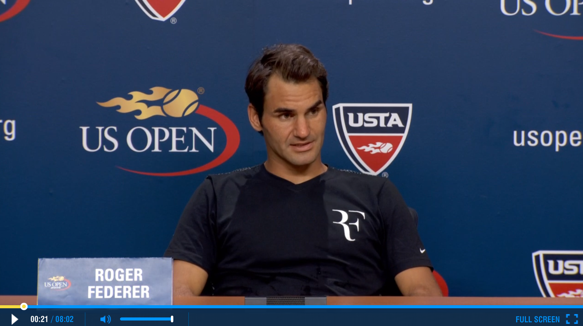 Federer US Open 2015 Third Round Press Conference