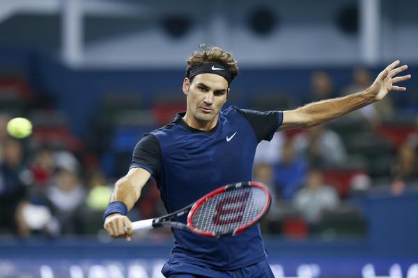 Roger Federer 2015 Shanghai Rolex Masters