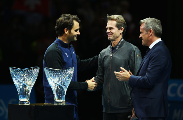 Roger Federer 2015 London Barclays ATP World Tour Finals Awards
