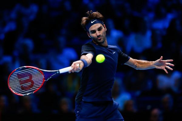 Roger Federer 2015 London Barclays ATP World Tour Finals