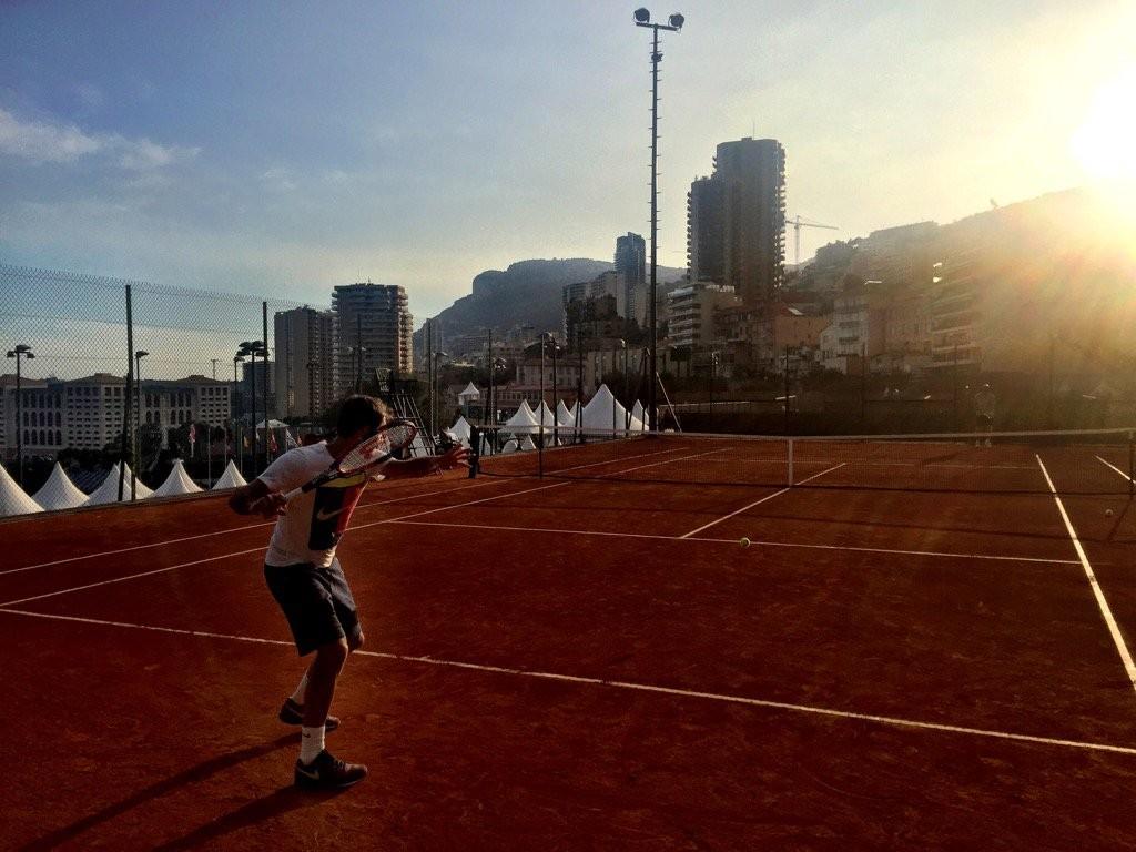 Roger Federer Monte Carlo Rolex Masters 2016