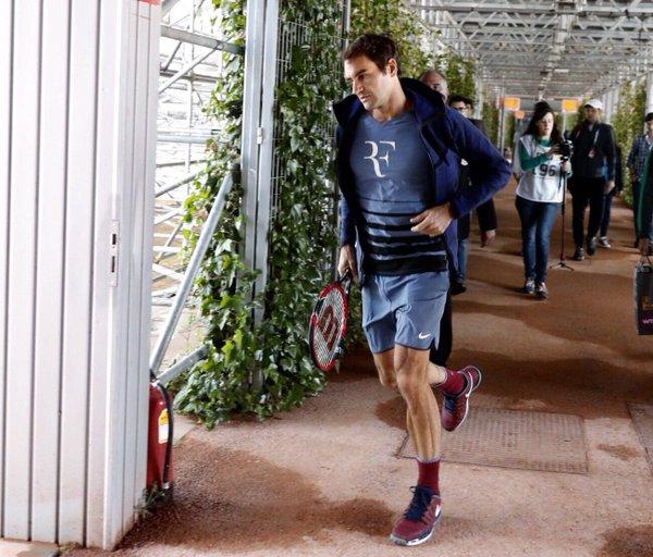 Roger Federer 2016 Madrid Masters