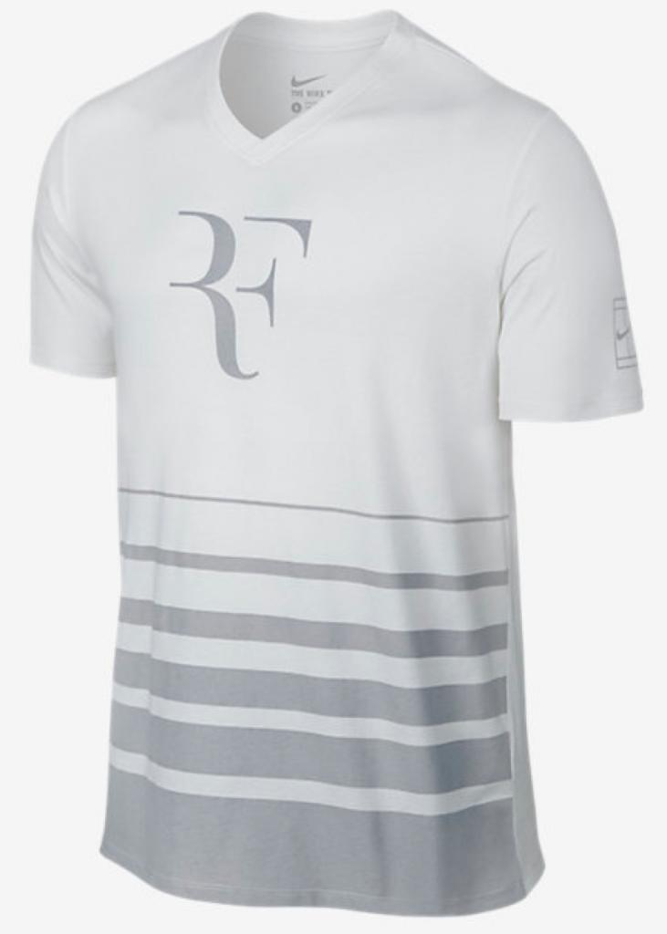 Roger Federer Wimbledon 2016 NikeCourt Premier RF T-Shirt