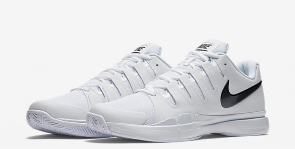 Roger Federer Wimbledon 2016 NikeCourt Zoom Vapor 9.5 Tour QS shoes
