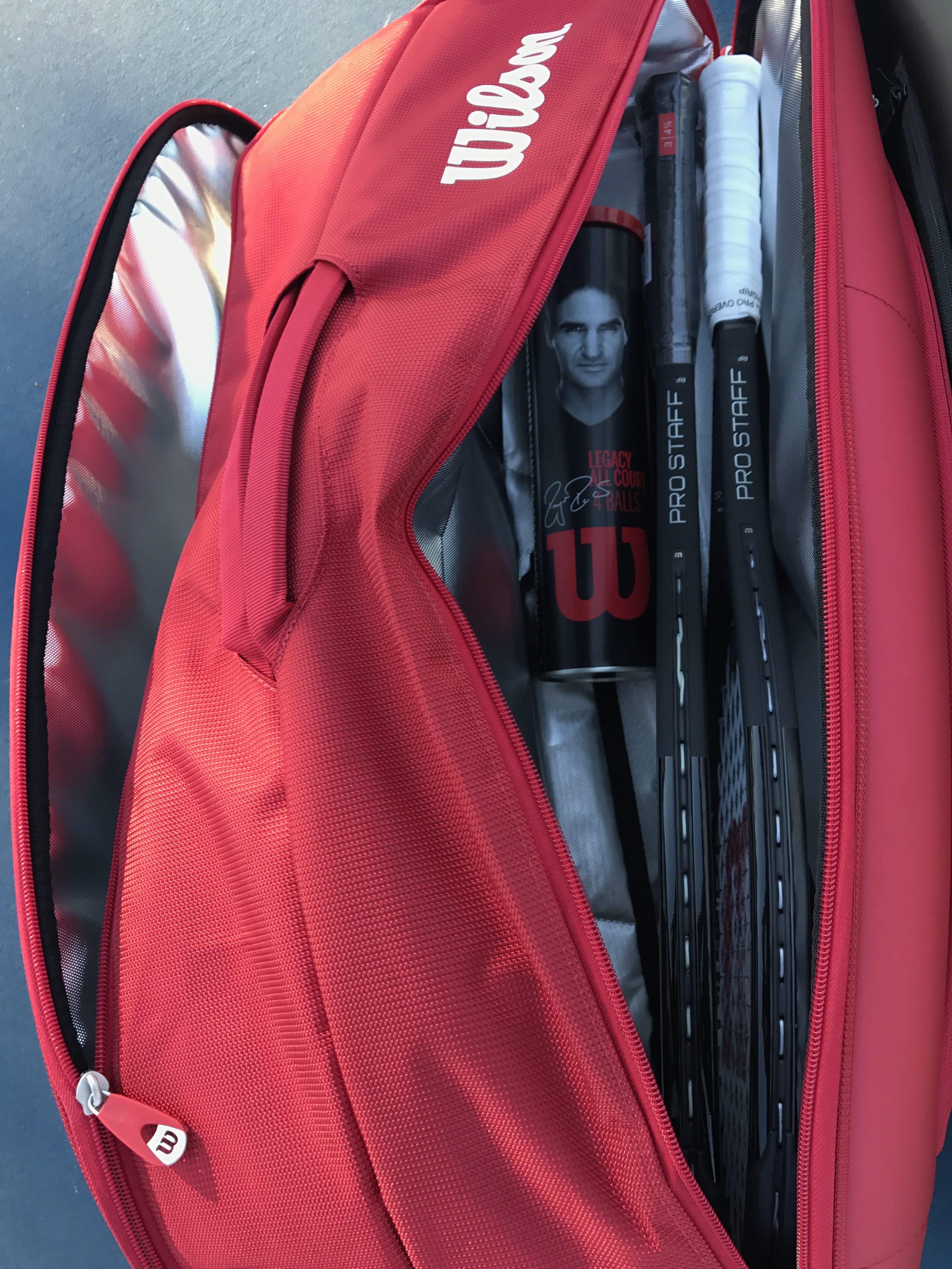 Federer DNA 12 Pack Tennis Bag - Red