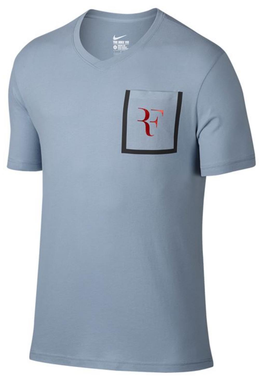Roger Federer 2017 Hopman Cup RF Shirt 2