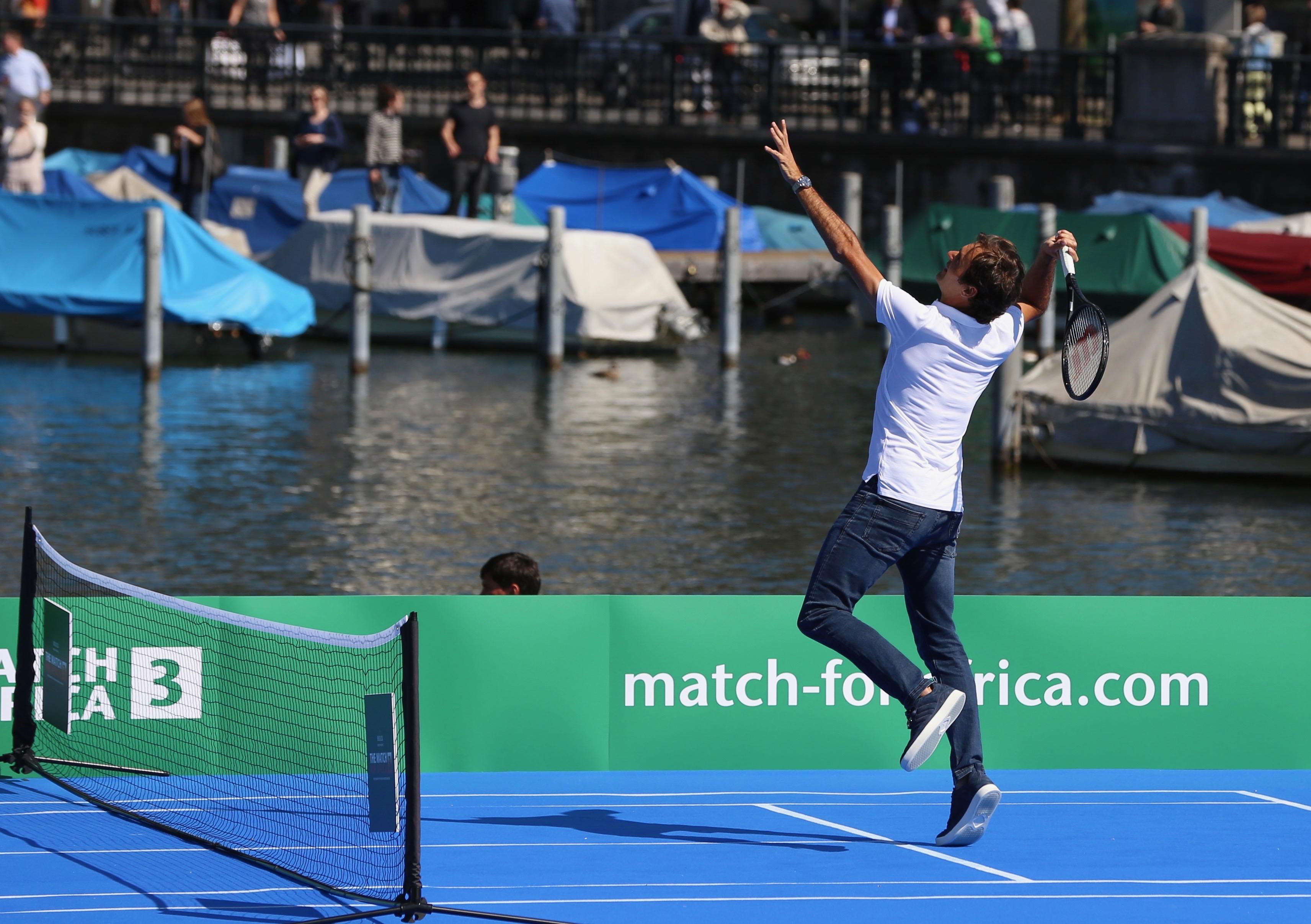 Roger Federer The Match For Africa 3
