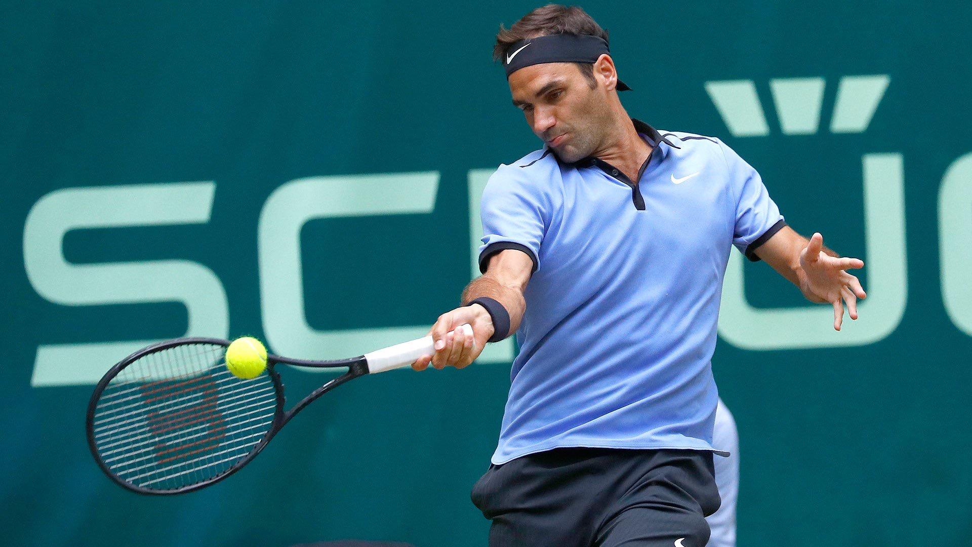 Roger Federer 2017 Gerry Weber Open