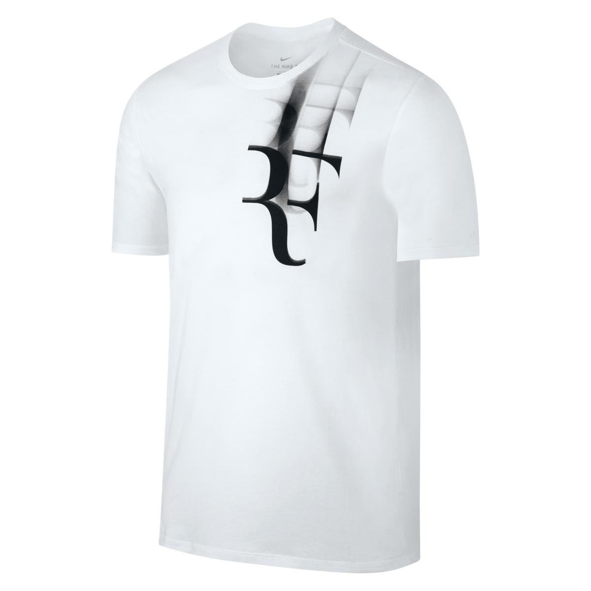 Roger Federer 2017 Coupe Rogers RF Shirt White