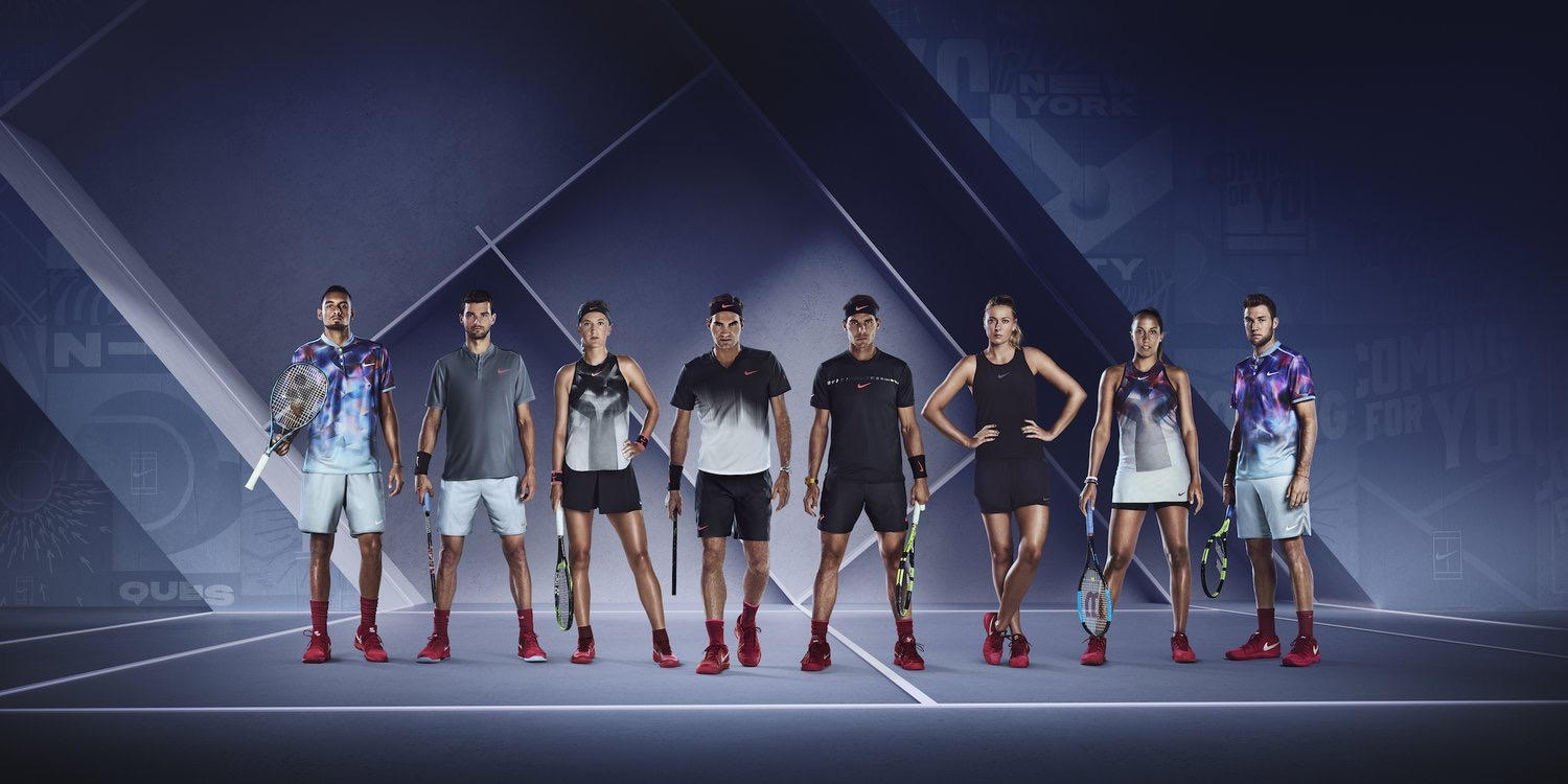 Roger Federer 2017 US Open Nike Outfit