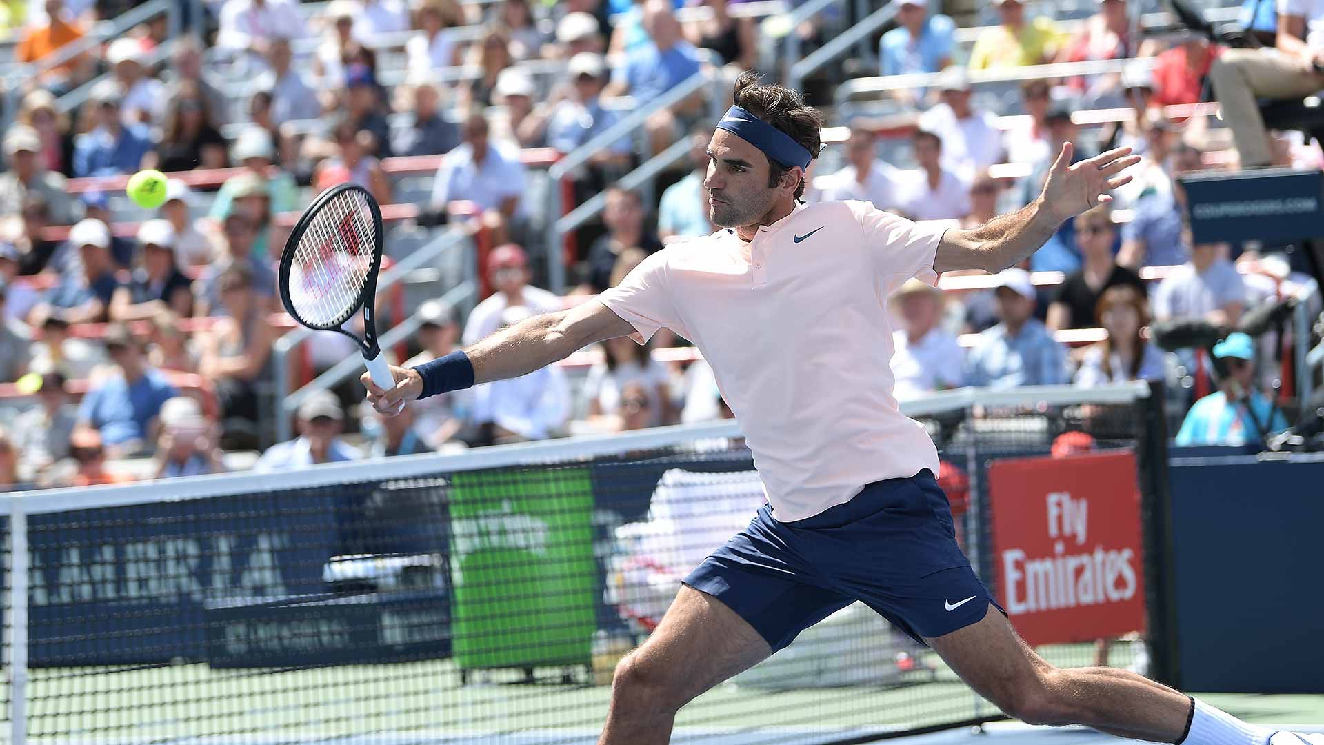 Roger Federer 2017 Coupe Rogers (Montreal Masters)