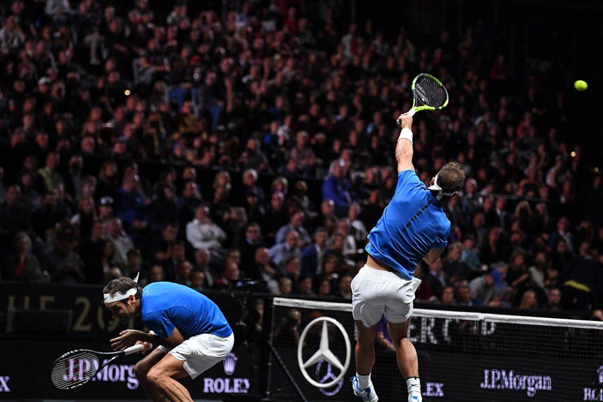 Roger Federer Rafael Nadal 2017 Laver Cup