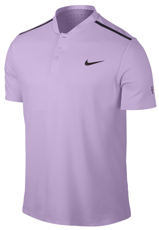 Roger Federer 2017 Nitto ATP Finals Henley - Roger Federer 2017 Nitto ATP Finals Nike Outfit