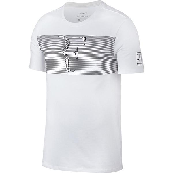 Roger Federer 2018 Australian Open Nike RF Shirt White - Roger Federer 2018 Australian Open Nike Outfit