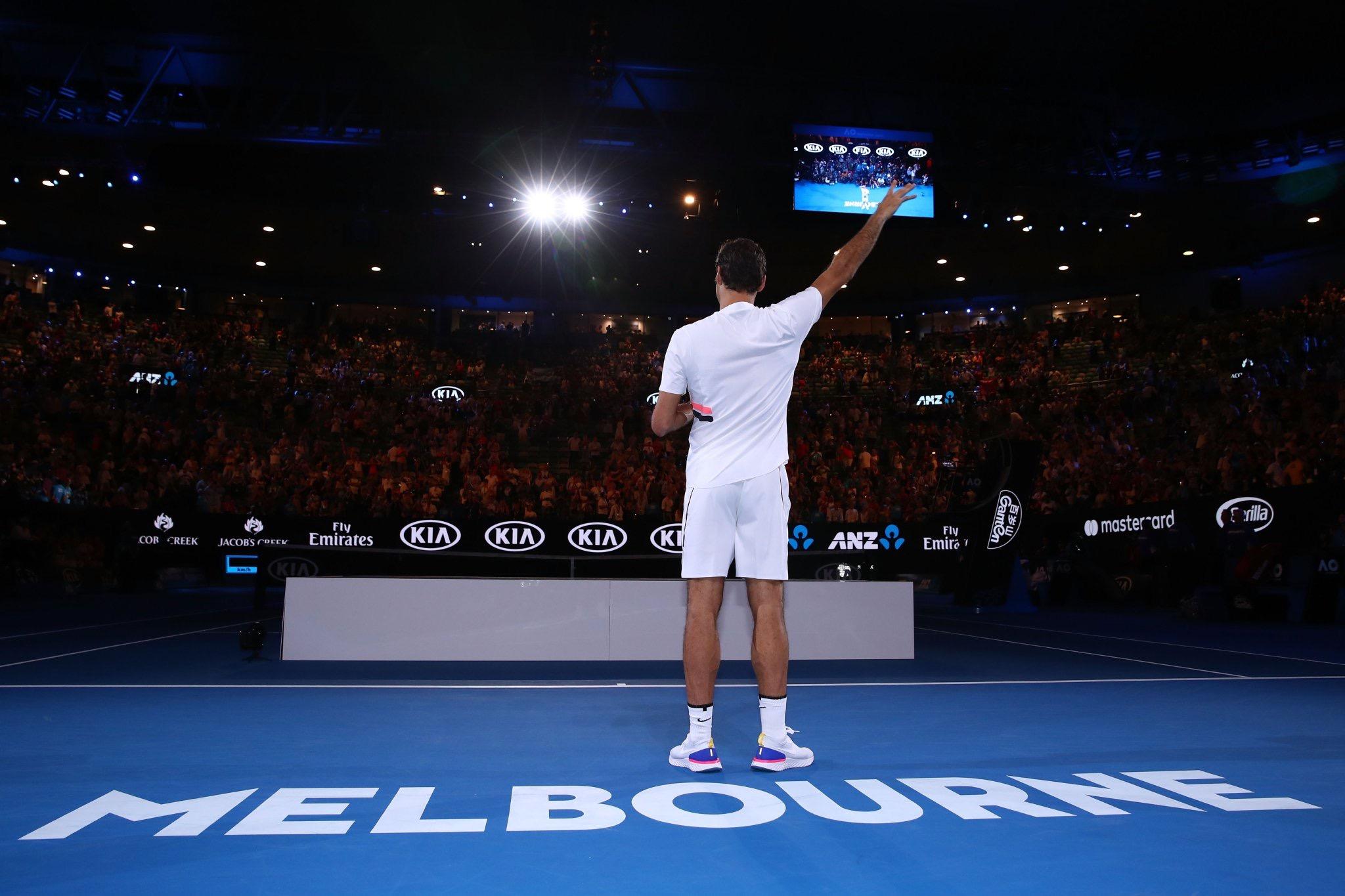 Roger Federer 2018 Australian Open - Federer Wins 20th Grand Slam Title