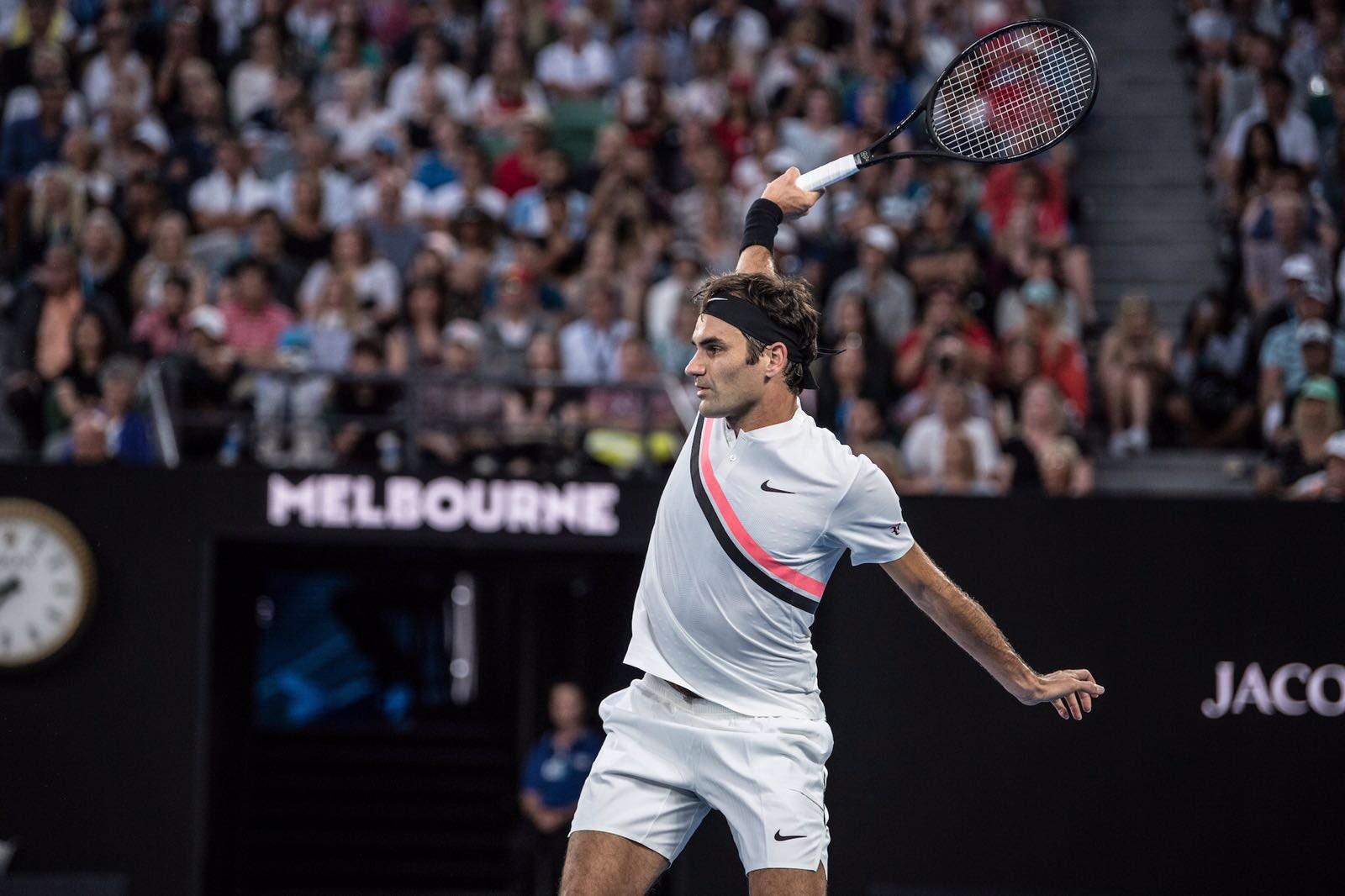 Roger Federer 2018 Australian Open - Federer Makes Winning Start at 2018 Australian Open