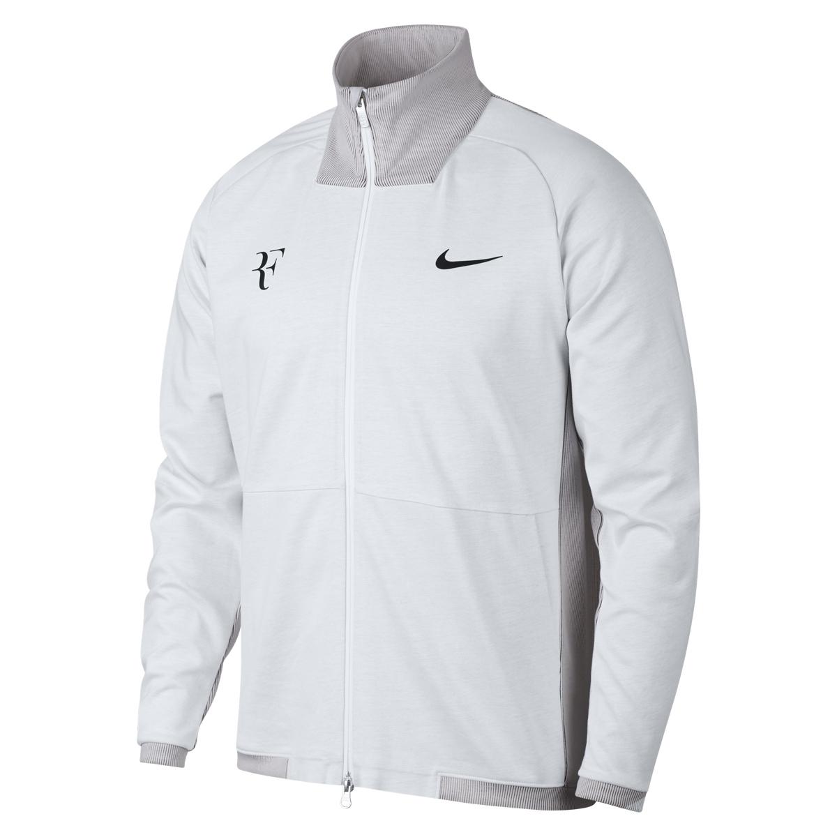 Roger Federer 2018 BNP Paribas Open Indian Wells Jacket - Roger Federer 2018 Indian Wells Nike Outfit