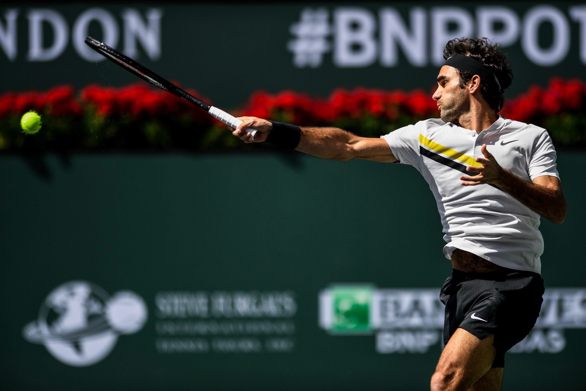 Roger Federer 2018 BNP Paribas Open (Indian Wells BNPPO18)