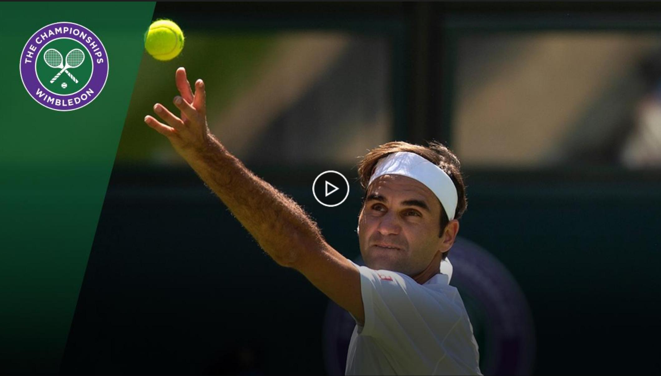 Federer Wins Wimbledon First Round Match, Wearing Uniqlo